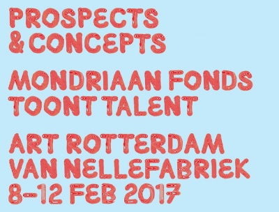 FEB. 8-12 2017 Mondrian Fund presents young talent at Art Rotterdam